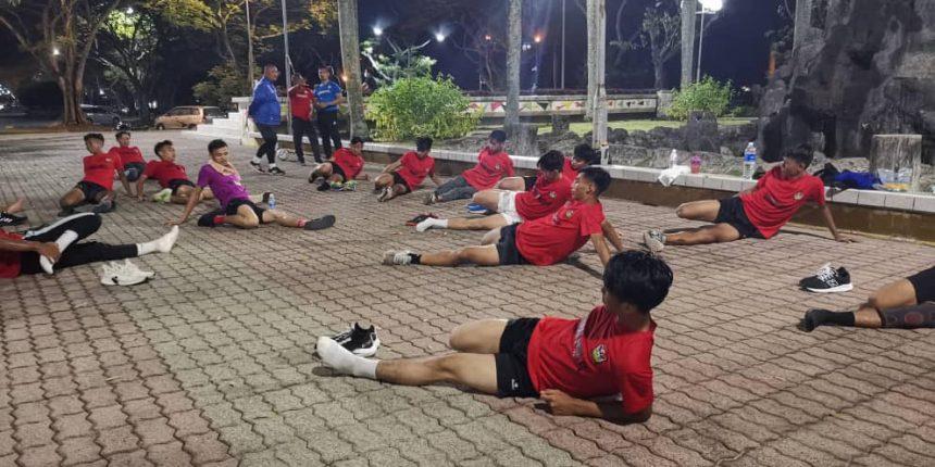 Persiapan skuad belia Sarawak Utd III lancar