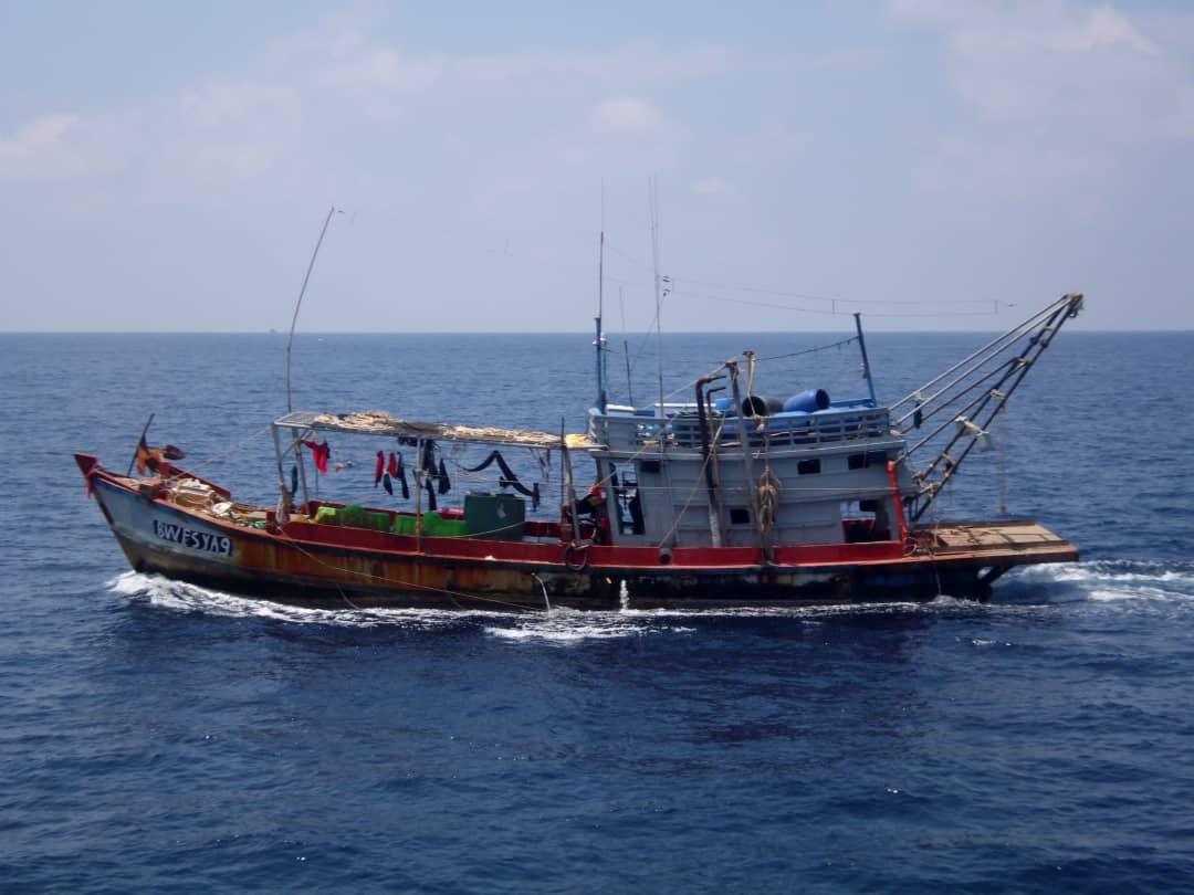 Maritim Miri tangkap tujuh nelayan asing ceroboh perairan negara