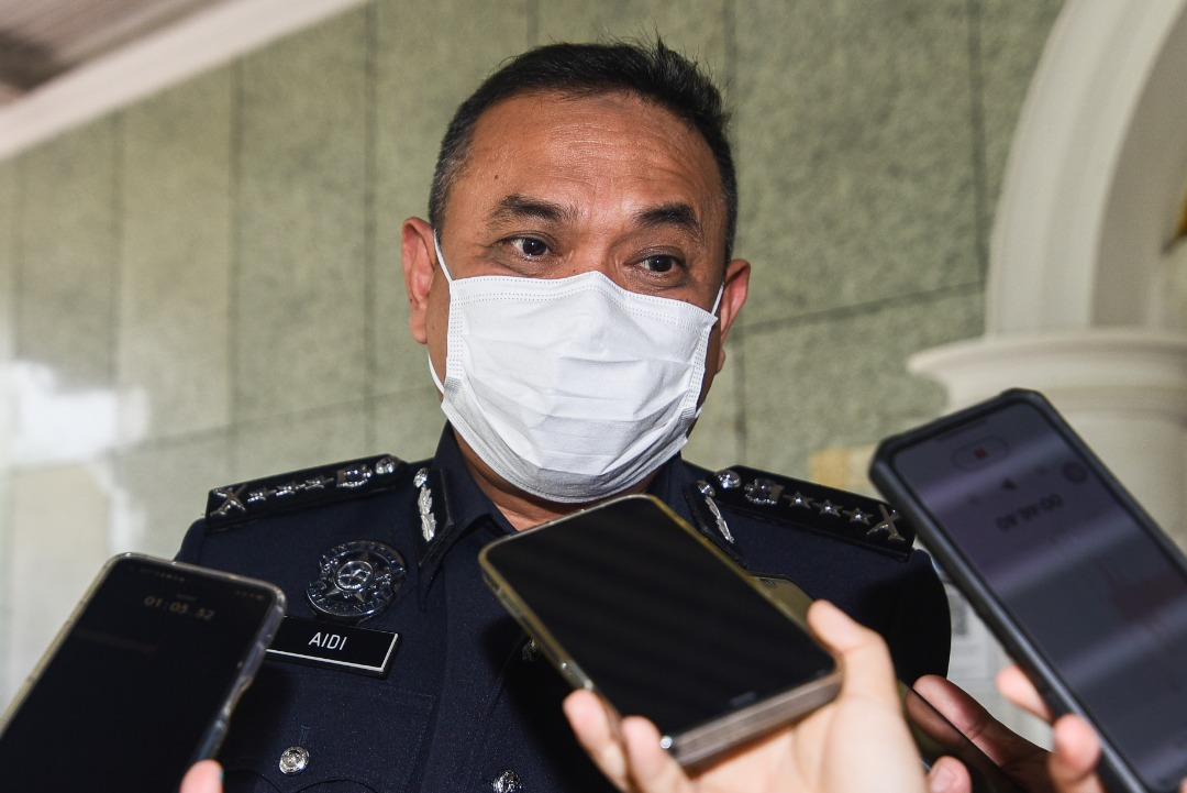 10 peratus aja polis diberi kemisi
