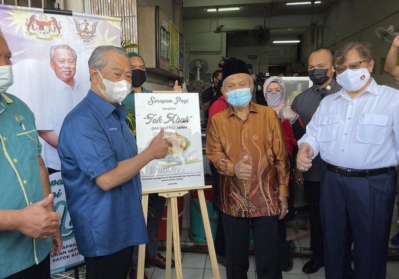 Mi Sapi Haji Salleh eratkan Petra Jaya, Putrajaya