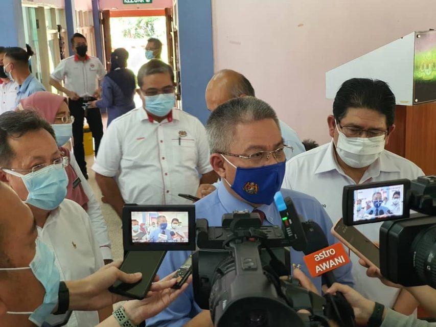 500 petugas kesihatan dikerah bantu Sarawak