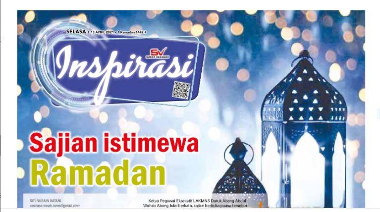 Sajian istimewa Ramadan