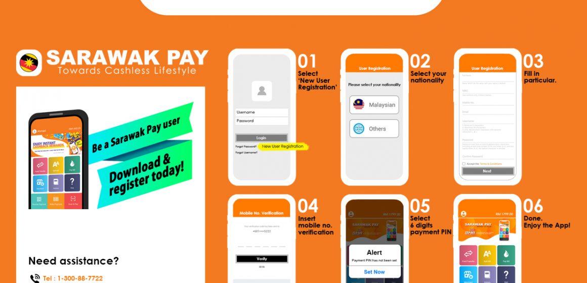 Sistem bayaran tanpa tunai, SarawakPay semakin mendapat sambutan