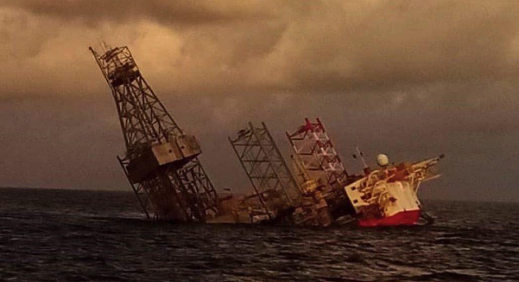 JLS keluarkan amaran dan penanda virtual, lokasi tenggelamnya Velesto Naga 7