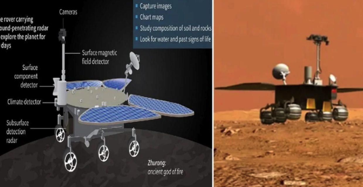 Rover peneroka pertama berjaya mendarat di Marikh