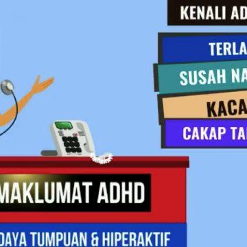 Kenali masalah ADHD dikalangan kanak-kanak