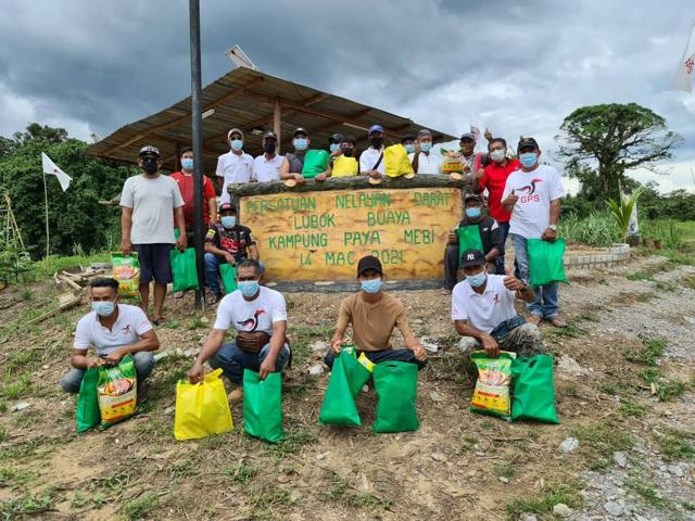 34 nelayan setempat terima sumbangan Kasih Ramadan