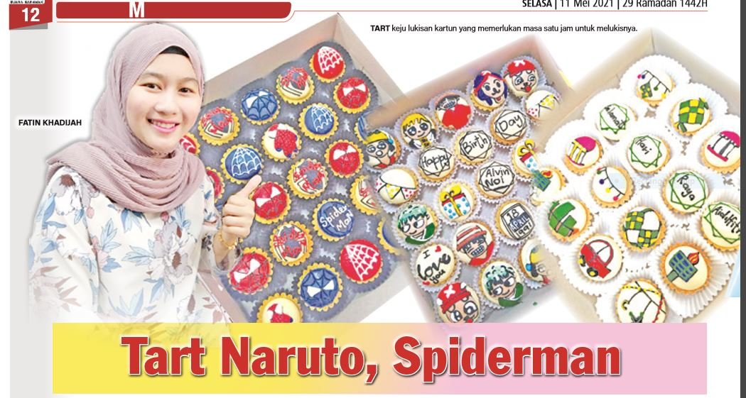 Tart Naruto, Spiderman