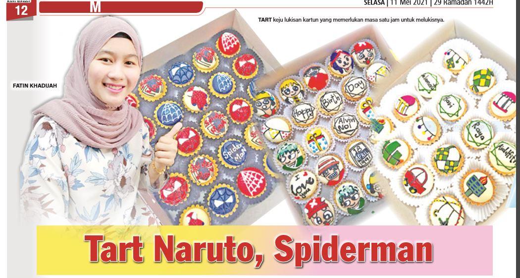Tart Naruto, Spiderman