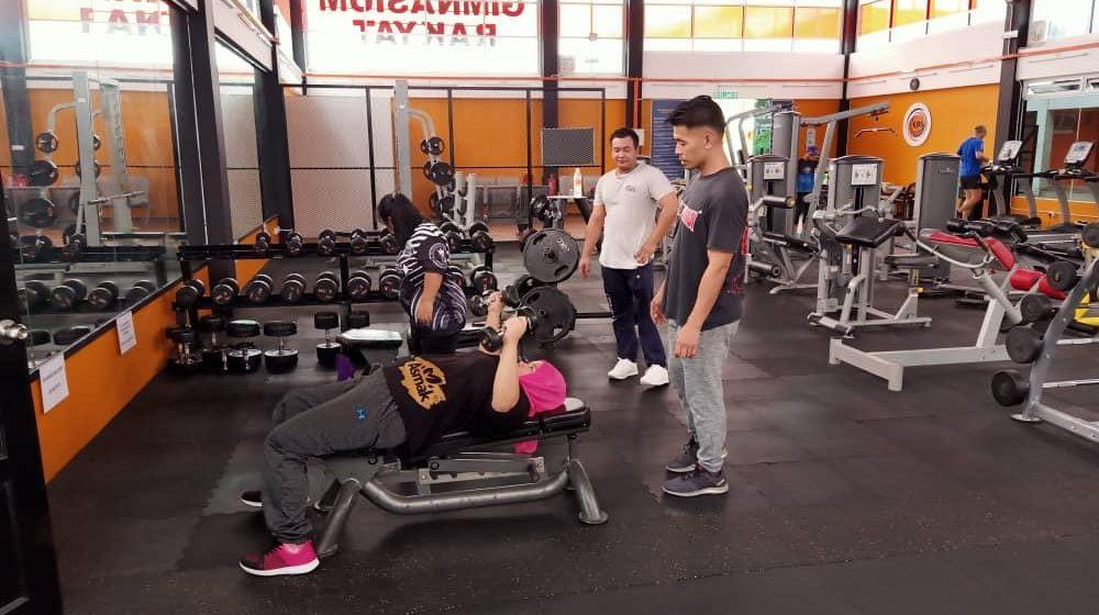 Atlet powerlifting tunggu di vaksinasi