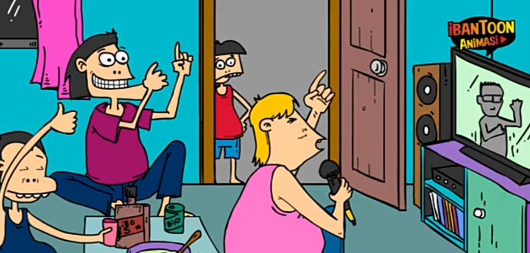 Cerita kartun Aki Selumbong