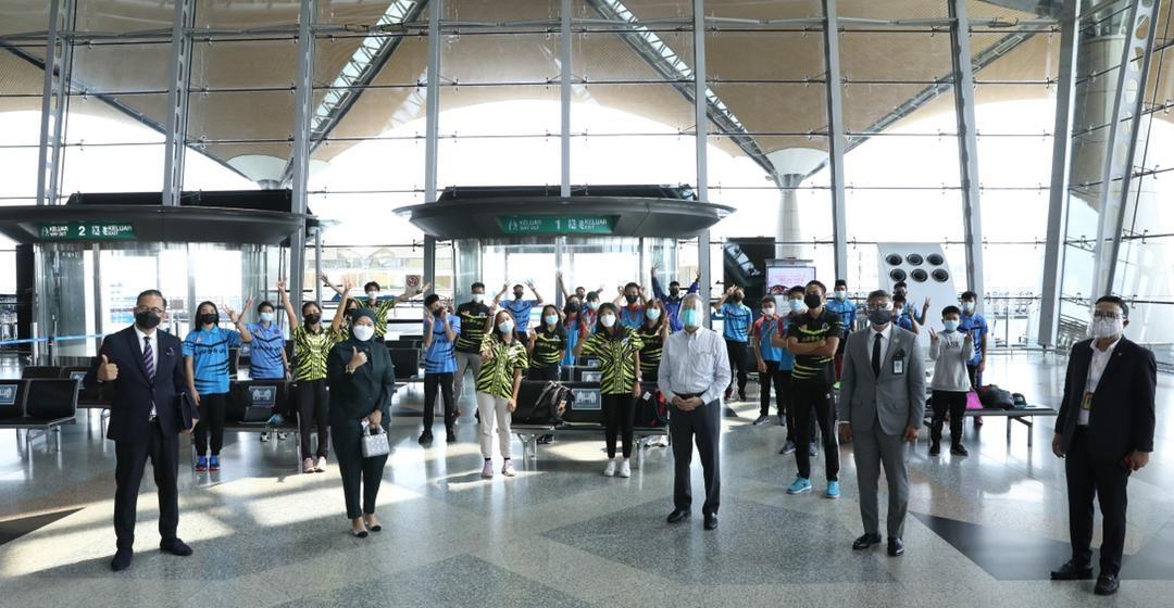 26 pelajar Sarawak di Sekolah Sukan Malaysia, Sabah dibawa pulang
