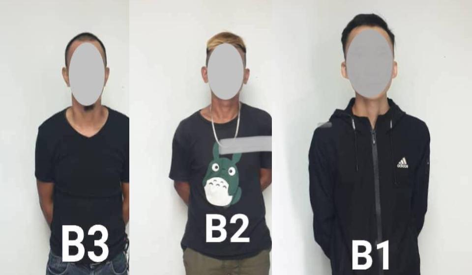 Tiga lelaki disyaki terlibat penyalahgunaan dadah ditahan