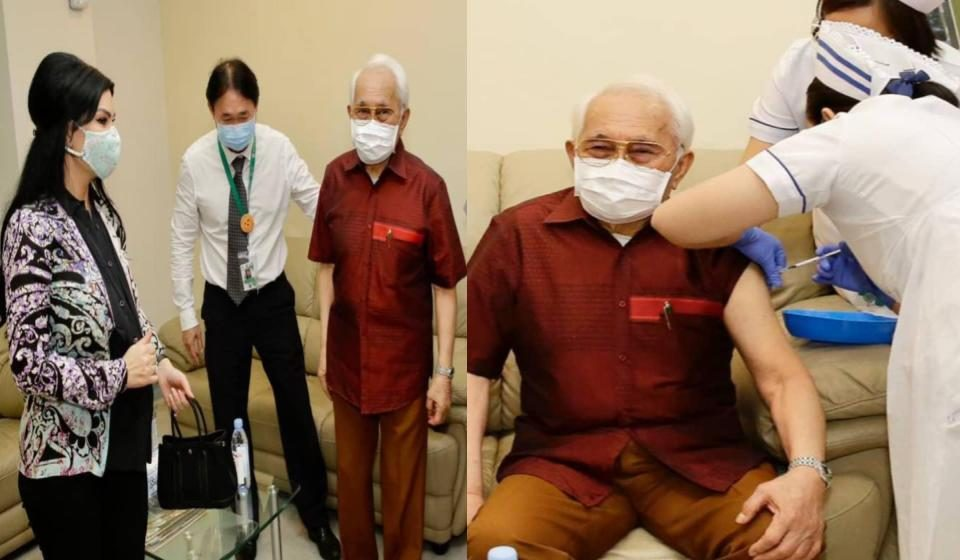 TYT Sarawak sudah lengkap dua dos vaksin