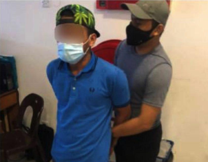Lelaki ditangkap samun kedai kek lapis guna pistol mainan