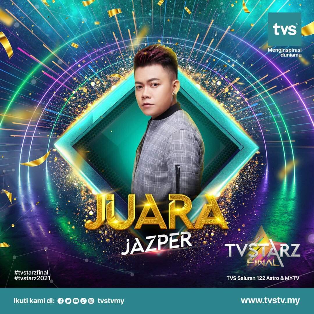 Jasper juara TVSTARZ