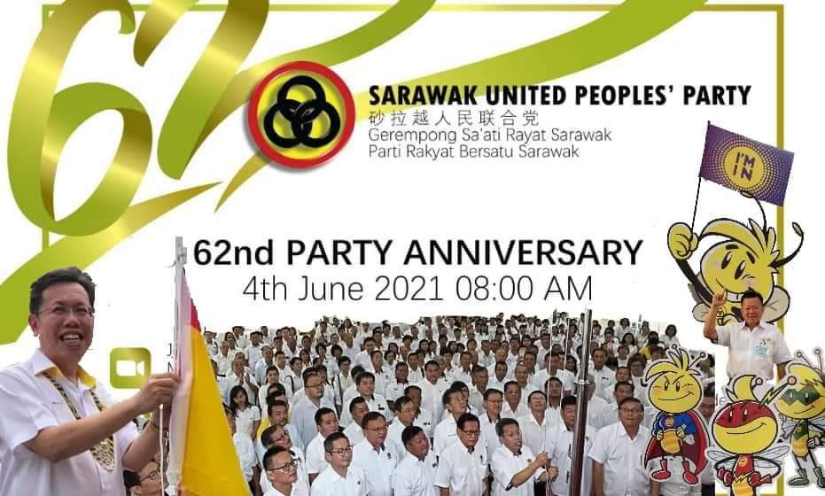 Pemisi Sarawak dibagi enggau rayat