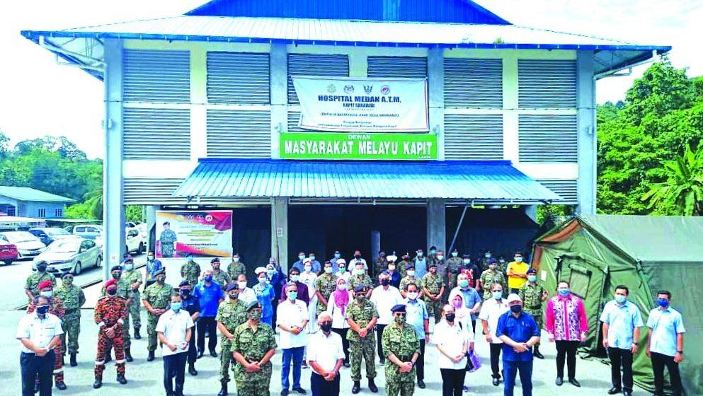 Bantu pemakai ari Perintah Sarawak tembu disadung sehari tu