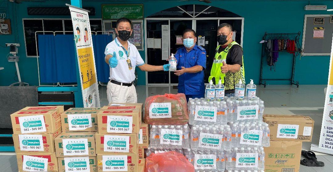 Hope Place Kuching nganjung bantu ngagai terabai komuniti ke bejejaga ba palan PKPD