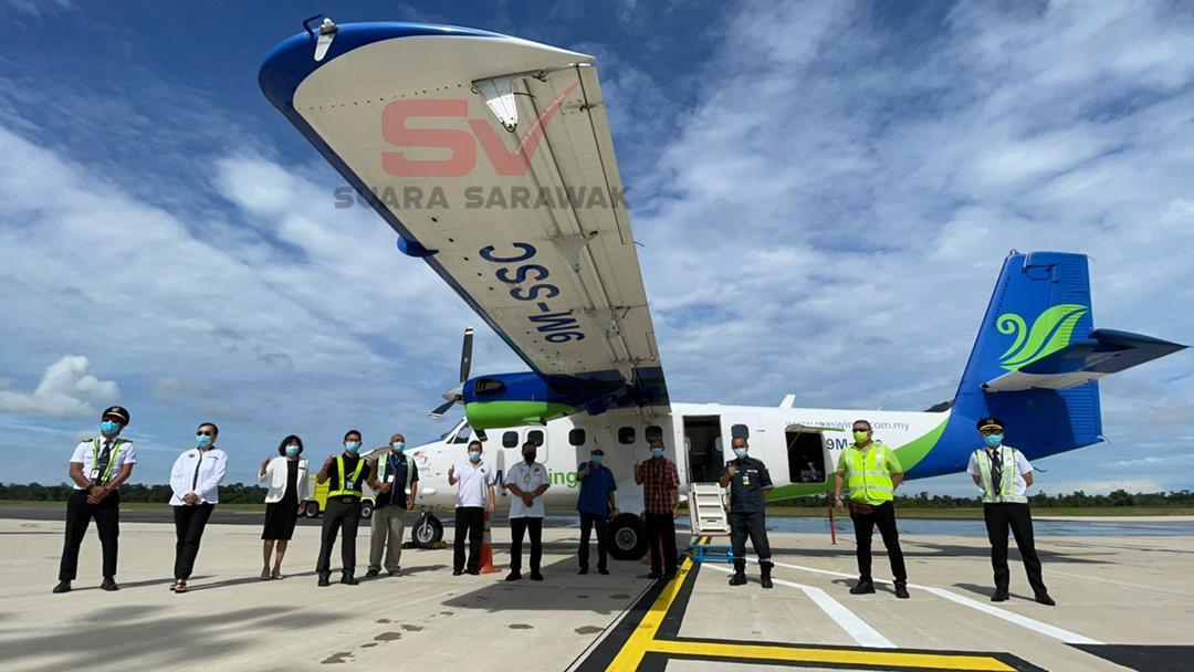 Lapangan Terbang Mukah mula beroperasi hari ini.