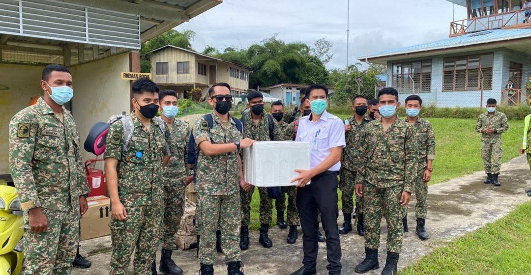 Empat pasukan bergerak serentak beri vaksin di pedalaman