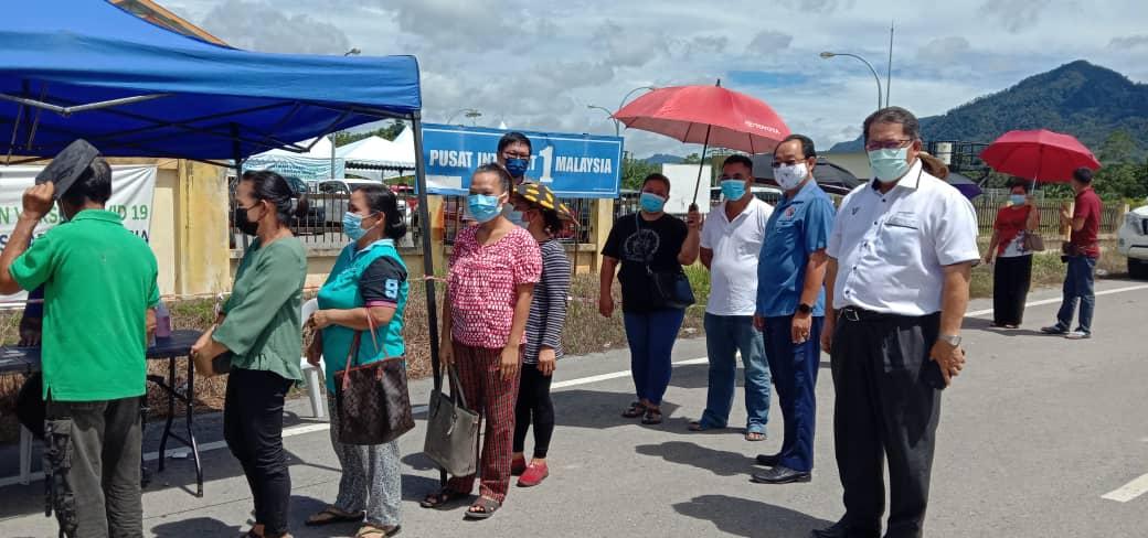 4,700 penduduk Sungai Asap sudah divaksin