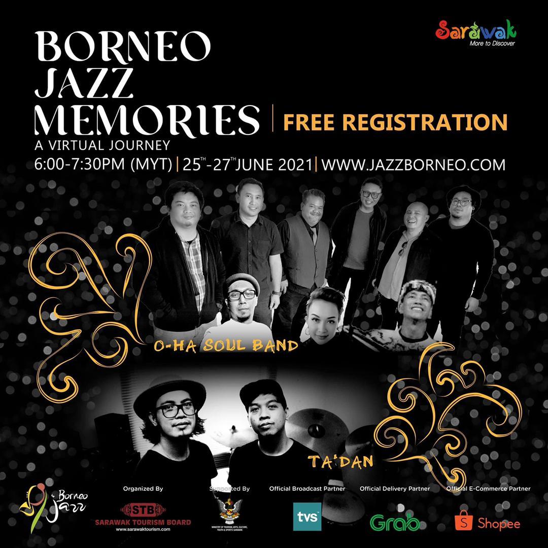 Festival Jazz Borneo diraikan secara maya pada 25 hingga 27 ini