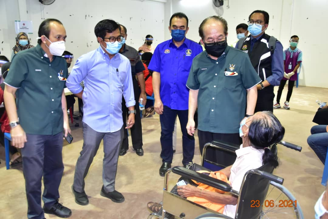 Sarawak terima vaksin dos tunggal, Cansino pertengahan bulan depan
