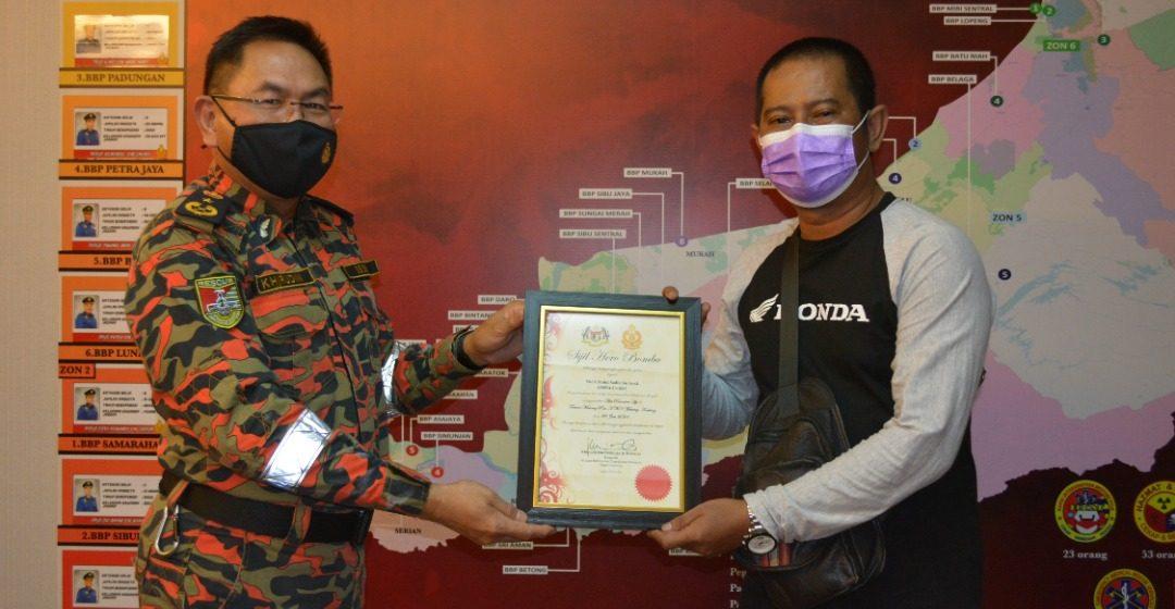 Mohd Sadik diiktiraf 'Hero Bomba'