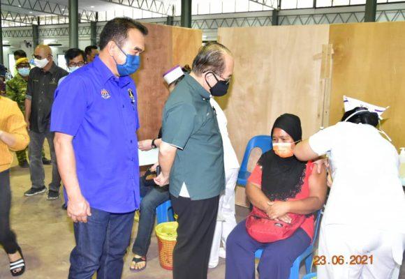 Vaksin CanSino datai di Sarawak tengan Julai 2021