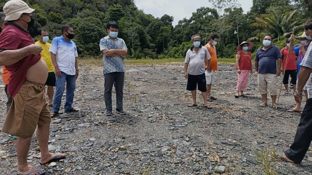 RM40,000 nyaup Rumah Achai berumah baru