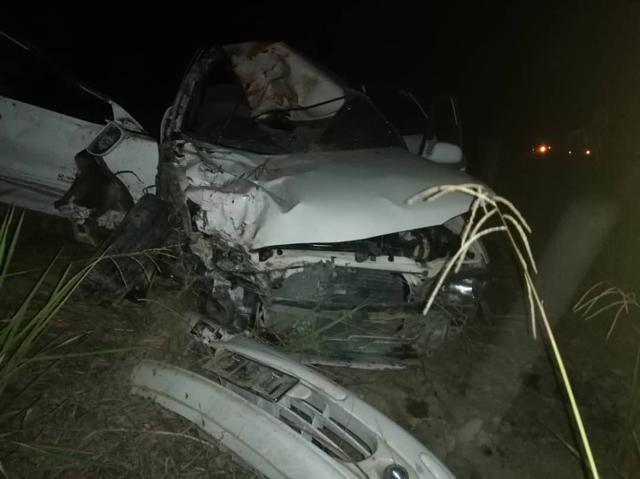 Tiga maut dalam pertembungan sebuah kereta dengan motosikal