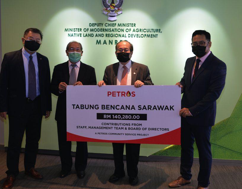 Petros sumbang RM140,280 kepada Tabung Bencana Negeri