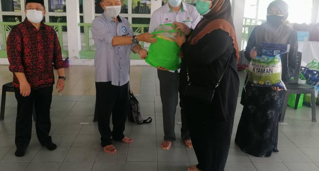 Hubungi pusat khidmat, pemimpin untuk bantuan bekalan makanan