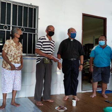 Gerija St. Luke mantu sida ke angus rumah di Punggu Tapang