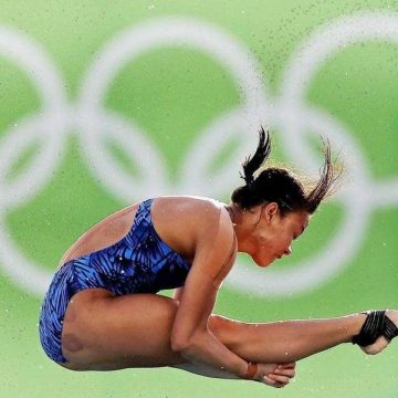 Besampi mih ke pemujur kami ba Lumba Olimpik