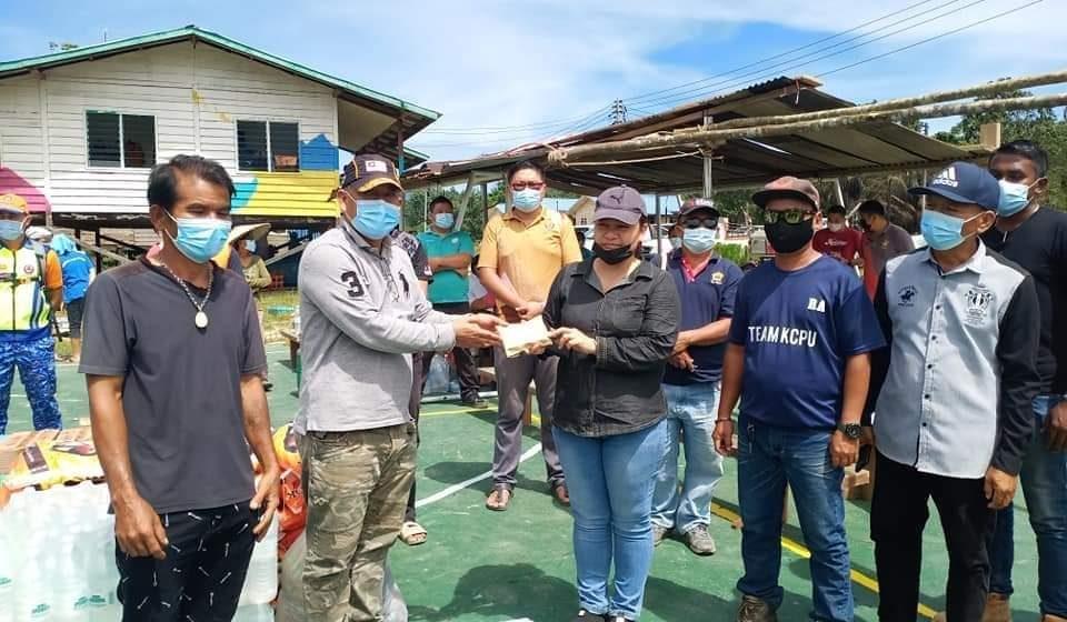 MP Hulu Rajang ngesah raban tasah angus di Uma Seping Kajang