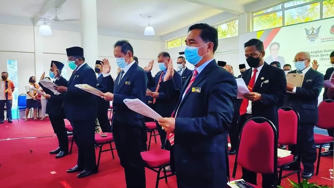 Ketua Menteri saksi 32 ahli majlid angkat sumpah