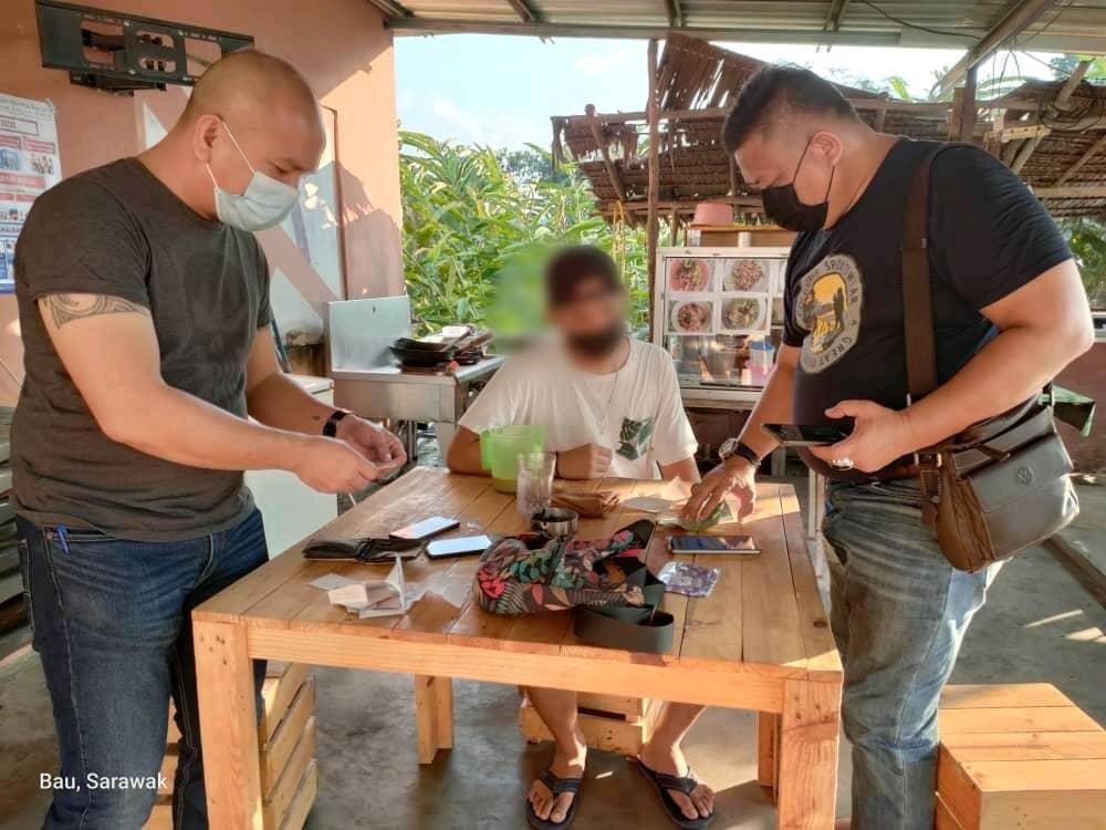 Ejen judi 'online' Kampung Podam diberkas