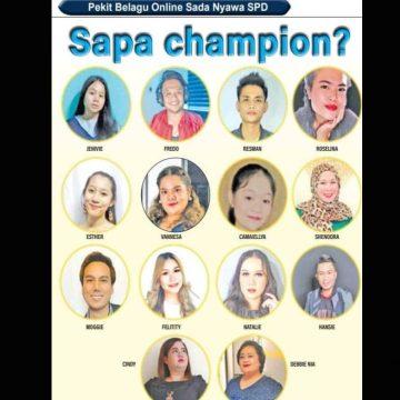 Bisi 14 pemekit udah dipilih ngerebut gelar champion Pekit Belagu Online Sada Nyawa SPD