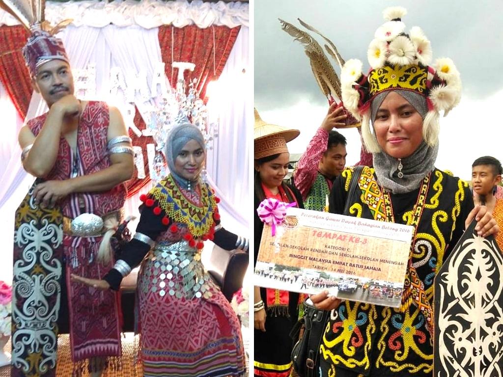 Kahwin campur jalin perpaduan di Sarawak