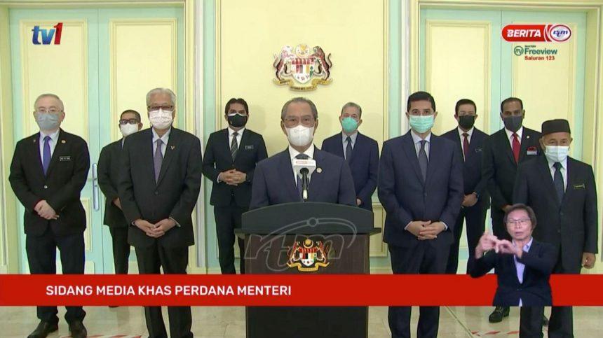 Muhyiddin tentukan keabsahan sebagai Perdana Menteri di Parlimen