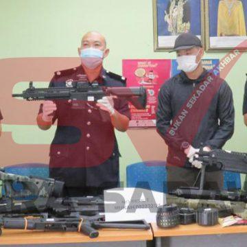 Seludup senjata tiruan enam warga asing ditahan