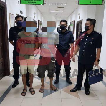 Curi wang sumbangan milik kuil, dua penganggur mengaku tidak bersalah