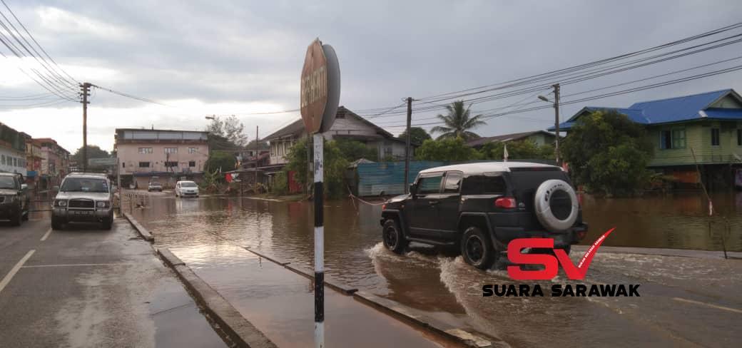 Banjir di Marudi beransur pulih