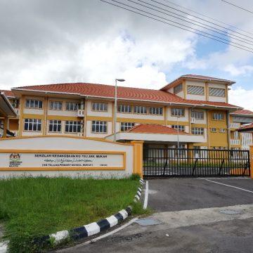 Begunan baru SK Kampung Tellian udah tembu