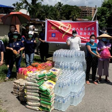 170 keluarga terjejas akibat Covid-19 terima bantuan bakul makanan