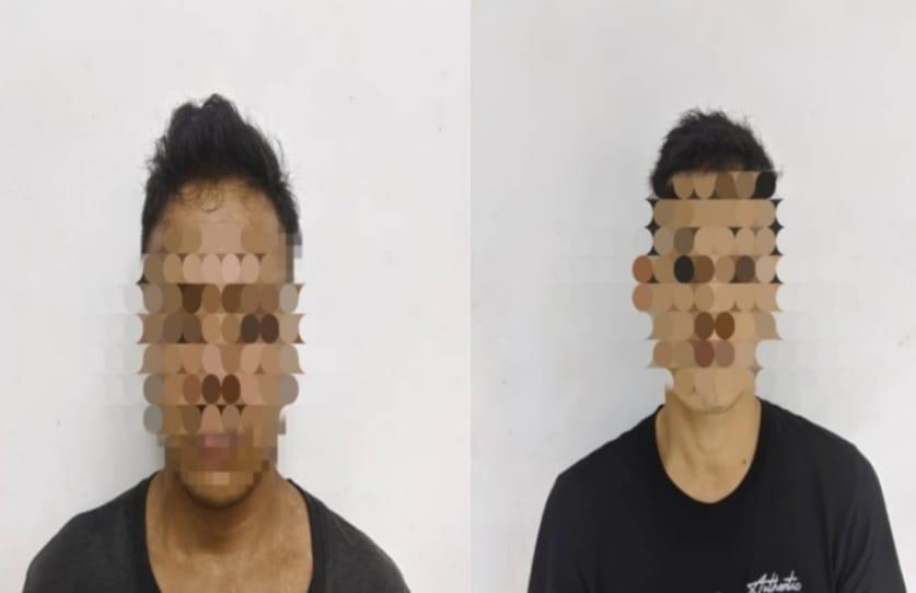 Dua lelaki ditahan hisap dadah di tepi sungai